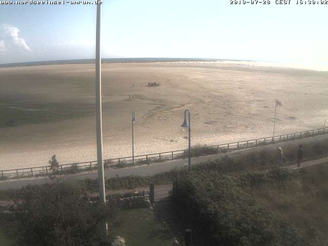 Amrum webcam - Wittduen South Beach webcam, Schleswig-Holstein, Nordfriesland