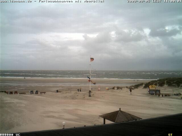 Amrum webcam - Norddorf Strand / Sylt webcam, Schleswig-Holstein, Nordfriesland